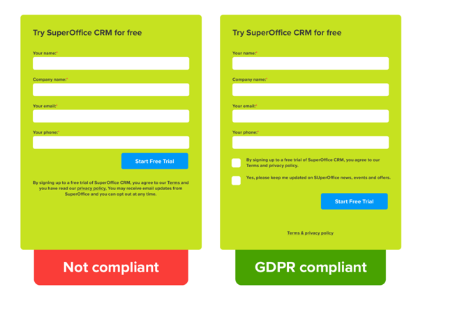 GDPR Regulations for Websites